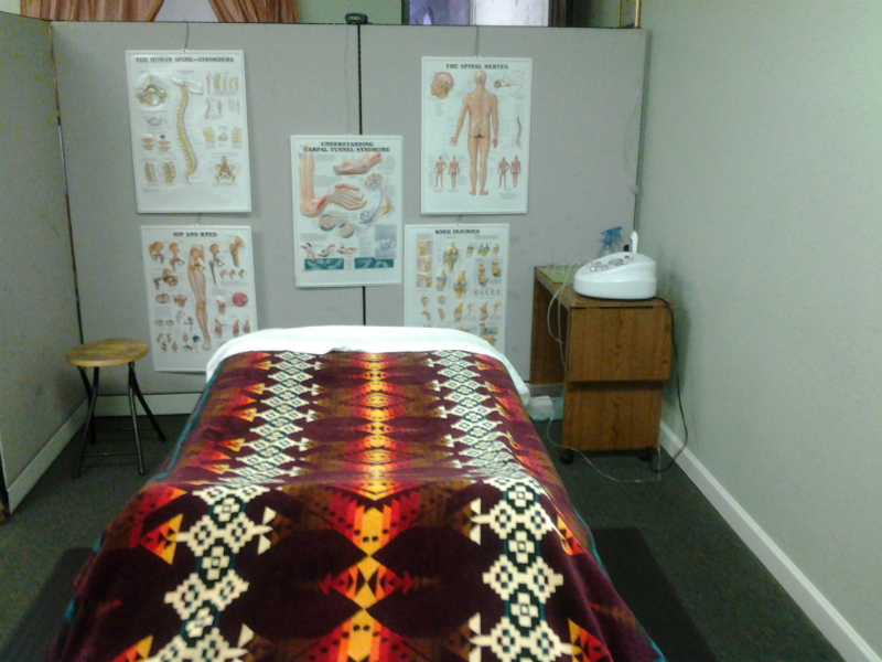 Therapeutic Massage Area